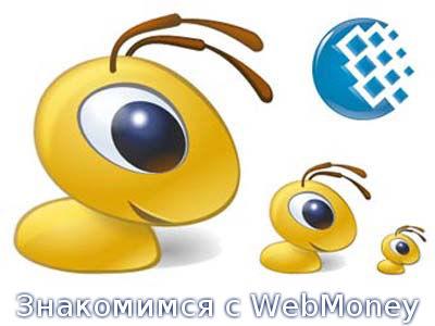 Знакомимся с WebMoney