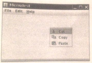 Как создать всплывающее меню в Java