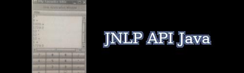 JNLP API Java