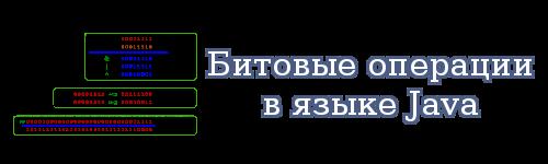 Битовые операции в языке Java