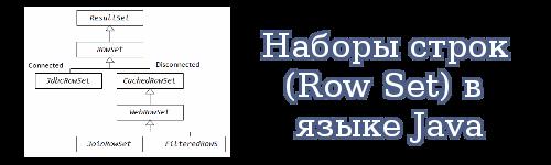 Наборы строк(Row Set) в языке Java