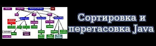 Сортировка и перетасовка Java