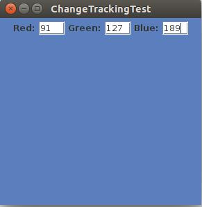 Изменение отслеживания в текстовых компонентах Java