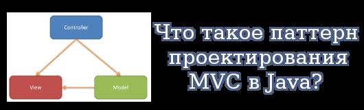 Что такое паттерн проектирования MVC в Java?