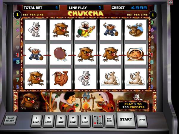 Игровой автомат Chukcha - завоюй сокровища севера у чукчи