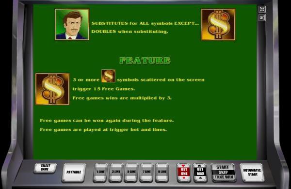 Игровой автомат The Money Game - море денег для любителей риска