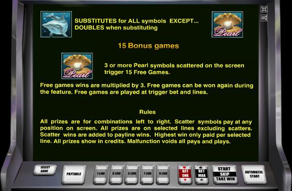 Игровой автомат Dolphin's Pearl - денежное приключение с дельфинами в казино Вулкан