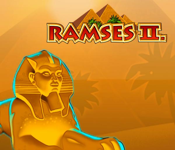 Игровой автомат Ramses 2 - клады властителей Древнего Египта