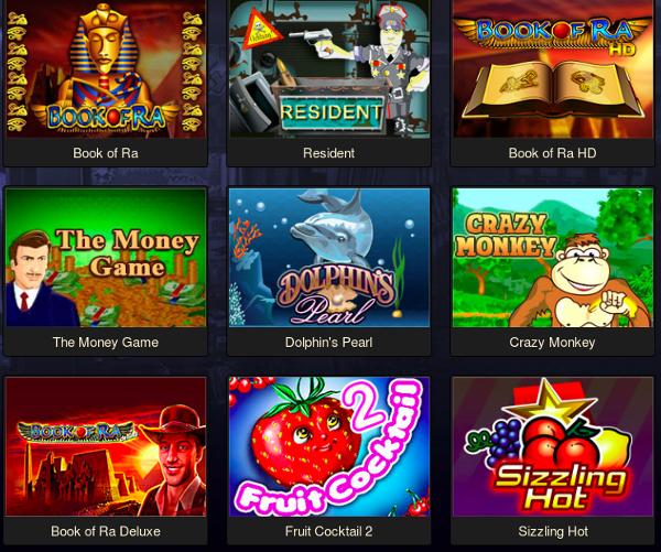 Бонусы на популярных игровых автоматах 777 на игровом портале Slotozalcasino