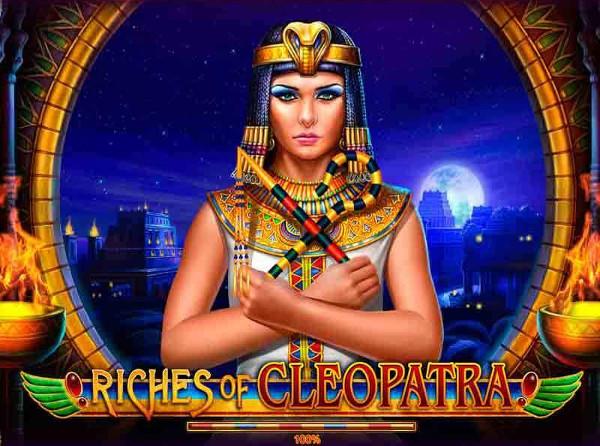 Игровой автомат Riches of Cleopatra - несметные богатства фараонов в казино Вулкан