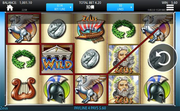 Игровой автомат Zeus - завоюй богатства и удачу у самого Зевса
