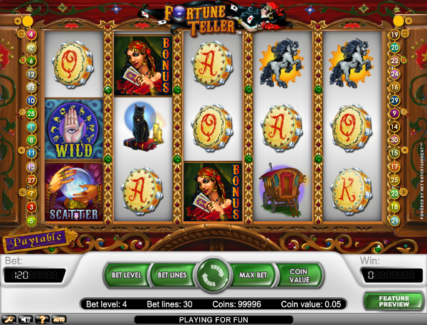 Игровой автомат Fortune Teller - загадки и мистика помогут выиграть в казино Вулкан