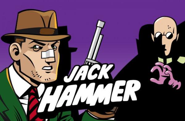 Игровой автомат Jack Hammer - слот для любителей комиксов