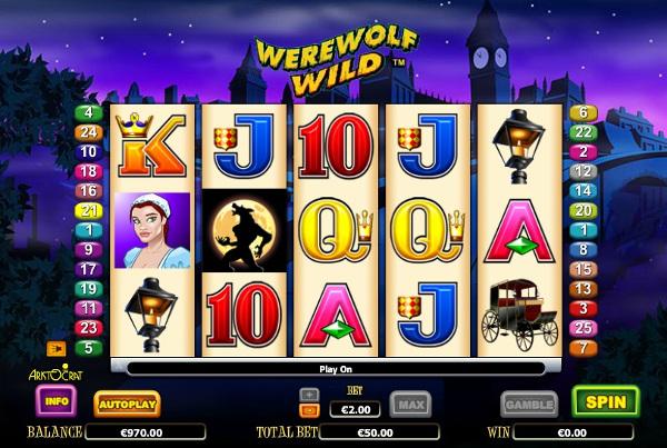 Игровой автомат Werewolf Wild - незабываемые выигрыши и бонусы