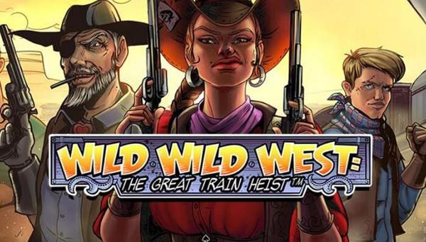 Преступный мир на игровом слоте «Wild Wild West: The Great Train Heist»