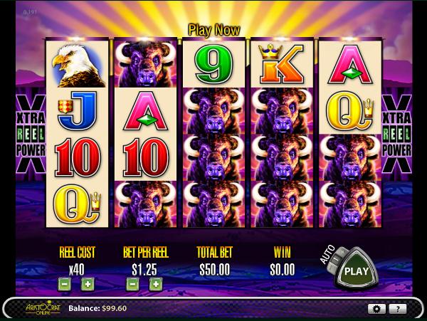 Игровой автомат Buffalo - крупные выигрыши для игроков казино Вулкан Платинум