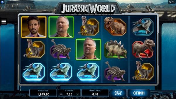 Игровой автомат Jurassic World - выиграй немалые деньги в казино Вулкан Платинум