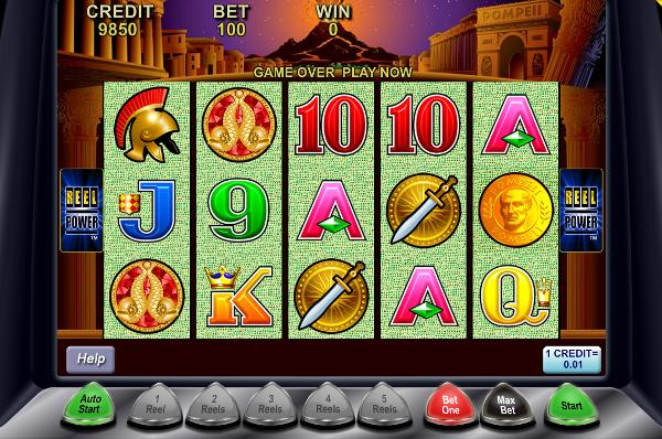 Игровой автомат Pompeii - сокровища великого римского города в казино Джойказино