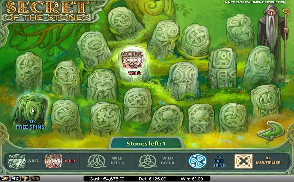 Игровой автомат Secret of the Stones - раскройте загадки камней в казино Вулкан 24