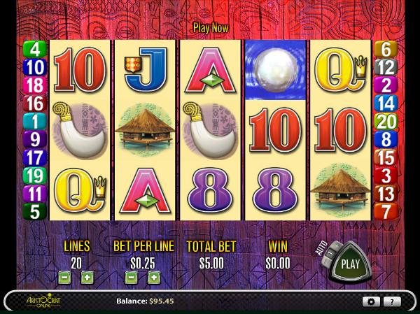 Игровой автомат Tiki Torch - заработай немалое количество денег в казино Azino777