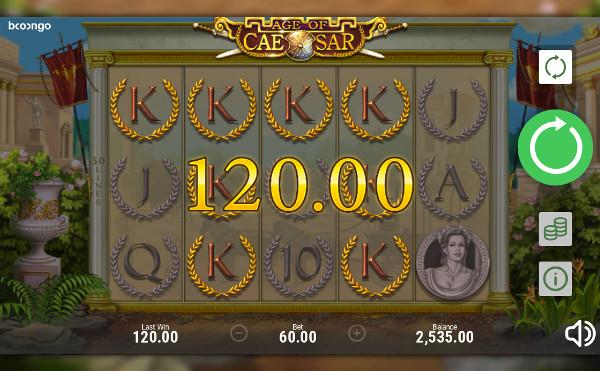Игровой автомат Age of Caesar - играть на официальном сайте Вулкан Вегас казино