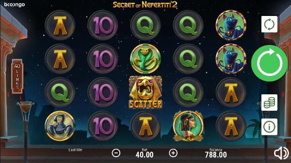 Игровой автомат Secret of Nefertiti 2 - в казино Вулкан Делюкс играть онлайн в Booongo слоты
