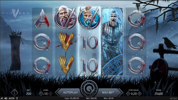 Игровой автомат Vikings - завоюй богатства викингов в казино Icecasino онлайн