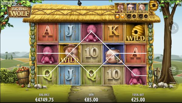 Игровой автомат Big Bad Wolf - в мобильное казино Вулкан играть с телефона
