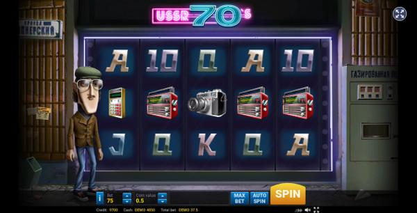 Игровой автомат The Seventies - играй на казино Сол официальный сайт