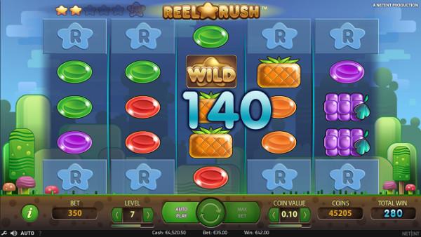 Игровой автомат Reel Rush - в казино Вулкан 24 онлайн крупно выиграй