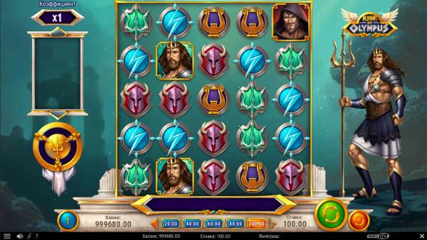 Игровой автомат Rise Of Olympus - играть в GMS Deluxe казино выгодно
